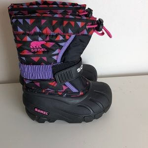 Nwot Sorel Flurry Toddler boot size 8